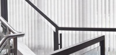 Luxaflex Vertical Blinds Semi-Transparent Metals -